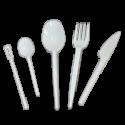 Вилки, ложки, ножи пластиковые
