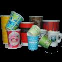 Стаканы и чашки бумажные, крышки