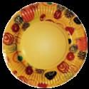 Тарелки цветные