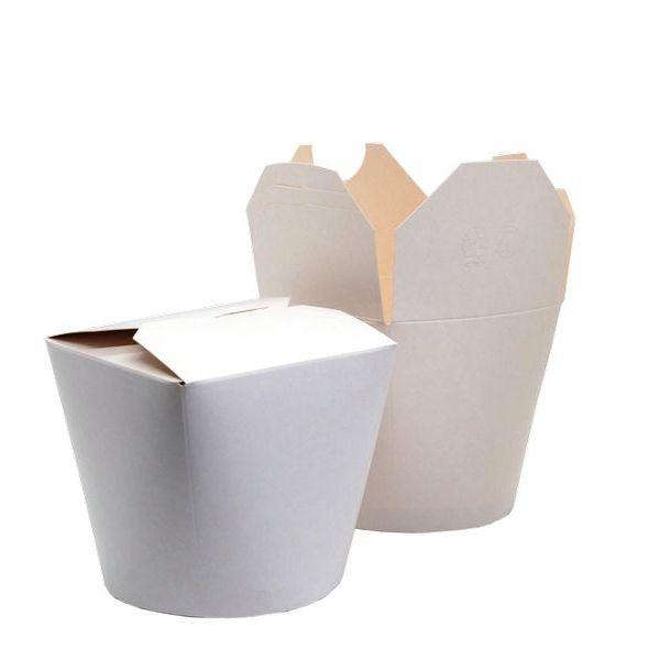 Контейнер 500мл China Pack белый  (50/500) ФП