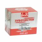 Зубочистки ментол в инд. уп FESTA 500шт/уп (100)