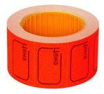 Ценник-ролик красный 29х28ММ (160)