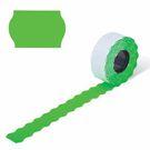 Этикет-лента  PN (волна) зеленая 22х12 (270)
