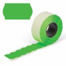 Этикет-лента 26х12 МЕТО большая универсальная (волна) зеленая (200)