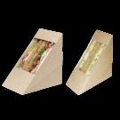 Коробка под сендвич ECO Sandwich 130х130х50 (600)