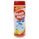 Чистящее средство ПЕМОЛЮКС ассорти (лимон,яблоко)+ Сода Эффект 480гр (36)
