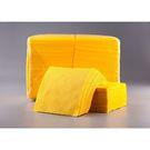 Салфетки бум.жёлтые 24х24  400л Биг Пак интенсив (9) Д