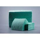 Салфетки бум.зелёные  24х24  400л Биг Пак пастель (9) Д