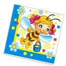 Салфетки 2сл 33х33см Bouquet Original Весёлые пчёлки 20шт (15)