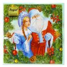 Салфетки 2сл 33х33см Bouquet Original Дед Мороз и Снегурочка 20шт (15)