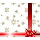 Салфетки 2сл 33х33см Bouquet Original Подарок красная лента NEW 20шт (15)