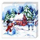 Салфетки 2сл 33х33см Bouquet Original Зимняя акварель 20шт (15)