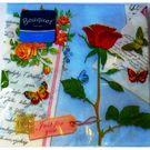 Салфетки 2сл 33х33см Bouquet Original Бабочки и розы 20шт (15)