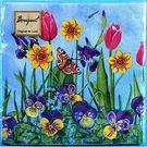 Салфетки 2сл 33х33см Bouquet Original Цветочная сказка 20шт (15)