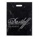 Пакет с пр руч 45мкм, 40х50см Daviloff чёрный (50/500)