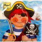 Салфетки 2сл 33х33см Bouquet Original Маленькие пираты 20шт (15)