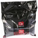 Уголь берёзовый GRIFON , в п/э пакете 1,0 кг (1/6) 610-048/1