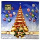 Салфетки 2сл 33х33см Bouquet Original de luxe Новогодний карнавал 20шт (15)