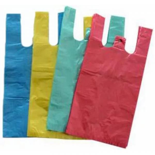 Пакет-майка 25+12х45 цветная (100/5000)