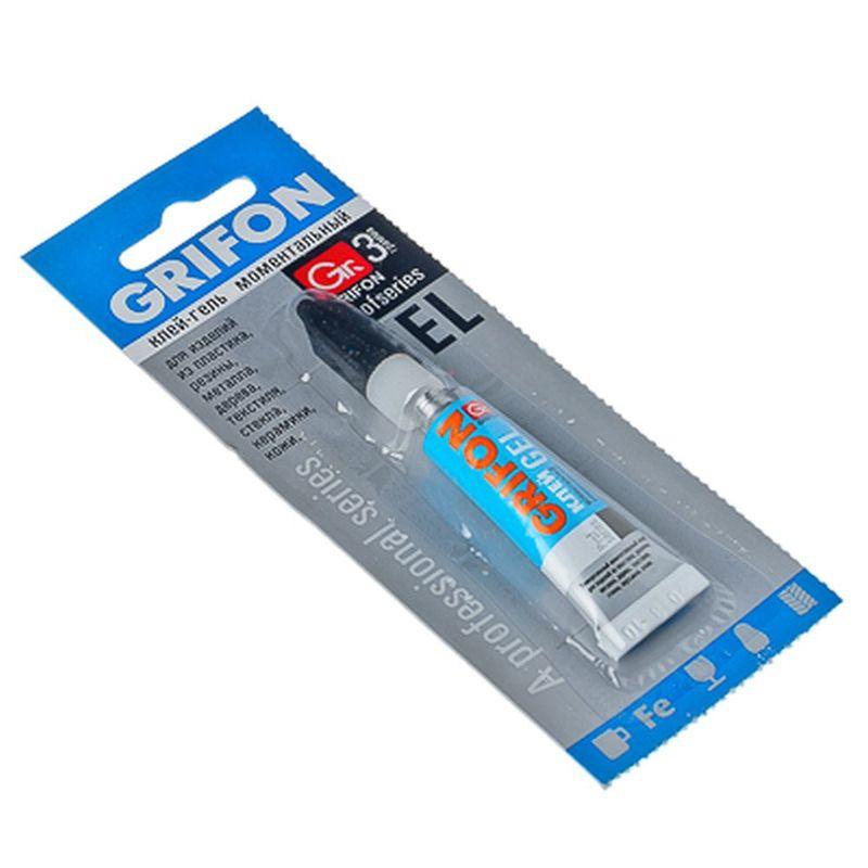 Клей-гель унив GRIFON 3г инд.уп (1/12/288) 010-002