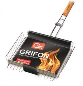 Решётка Глуб GRIFON 31х24х5,5см (16) 600-003