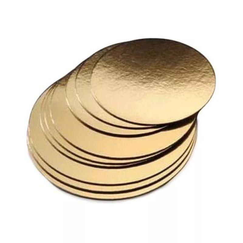 Подложка золото D300мм