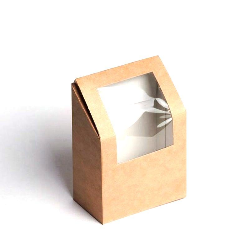 Коробка д/роллов/блинов ECO ROLL 450мл (90*50*130) (1/500)