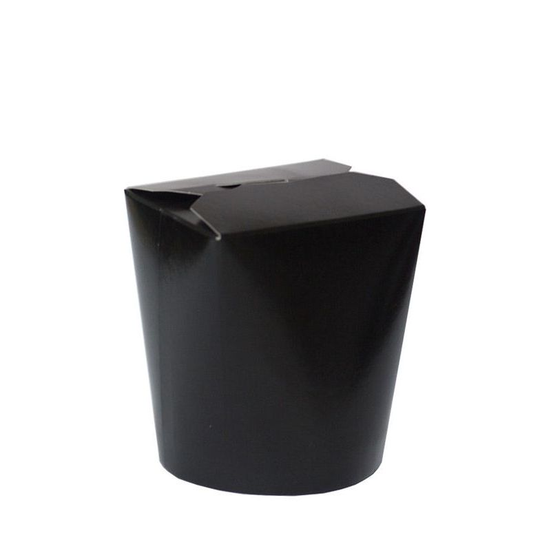 Контейнер 500мл China Pack чёрный  (50/500) ФП