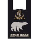 Пакет-майка 33+16х59, 16мкм, /Медведь/ с печатью (100/2000) Анг