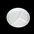 Тарелка РS d=205 мм 3-х секц бел (100/1800) СП