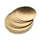 Подложка п/торт золото 400 (d18)