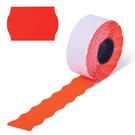 Этикет-лента  PN (волна) красная 22х12 (270)