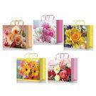 Пакет подар. лам L 26х14х33 Микс Цветы (10/200)