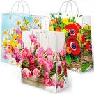 Пакет подар. лам XL 32х11х45 Микс Цветы  (20/240)