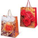 Пакет подар. лам L 26х13х33см Микс Цветы №2 (240)