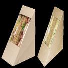 Коробка под сендвич ECO Sandwich 130х130х60 (800)