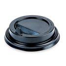 Крышка ПС  d90мм д/стакан KF 300, 400, чёрная (50/1000) Рос