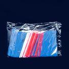 Трубочки для кокт 8*240мм цветн.прямые MIX (250/5750)