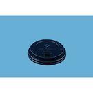 Крышка с питейником Д=80 мм, чёрная KF200 (50/2000) Рос