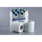 Туалетная бумага на втулке белая 2-сл Домашняя  4шт/уп (12) Д