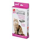 Пакеты д/кошачьих лотков GRIFON (45х30х29,5см 15мк) 10шт/уп (40) 301-010
