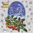 Салфетки 2сл 33х33см Bouquet Original de luxe Зимний лес 20шт (15)