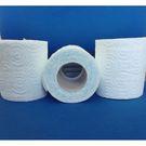 Туалетная бумага 2-сл на втулке бел,12,5м с тисн. (70) Д