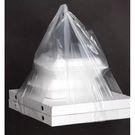 Пакет-майка 32+24х60, 14мкм, д/коробок пиццы АВА (50/1000) СП