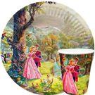 Тарелка 180мм Спящая красавица (100/1600) ЭКО