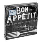 Салфетки 3сл 24х24см Bouquet Original de Luxe bon appetit 25шт (15)