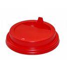 Крышка ПС  d80мм д/стакан KF 200 красная (50/2000) Рос