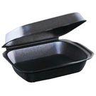 Ланч-бокс LBS 195х150х70 чёрный (100)