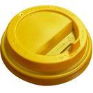 Крышка ПС  d80мм д/стакан KF 200 жёлтая (50/2000) Рос