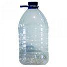 Бутылка ПЭТ 5,0л с крышкой и ручк (38мм) б/ц (27)